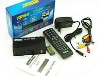 Цифровой тюнер Т2, телевізійний приймач, ресивер, приставка Operasky OP-207, фото 1
