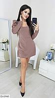 Стильный комбинезон-платье размер 42-46 арт.  5116