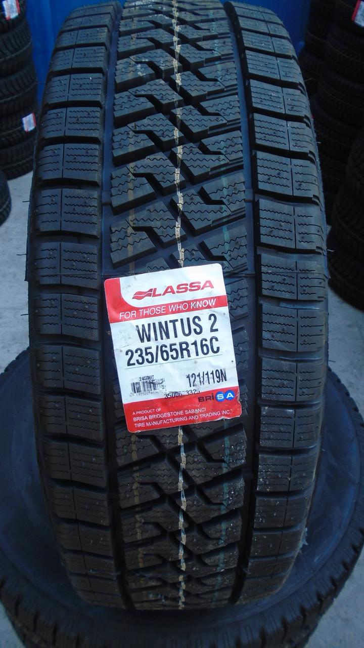 Автошины Lassa  235/65R16C 115/113R WINTUS 2
