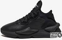 Мужские кроссовки Adidas Y-3 Kaiwa Triple Black