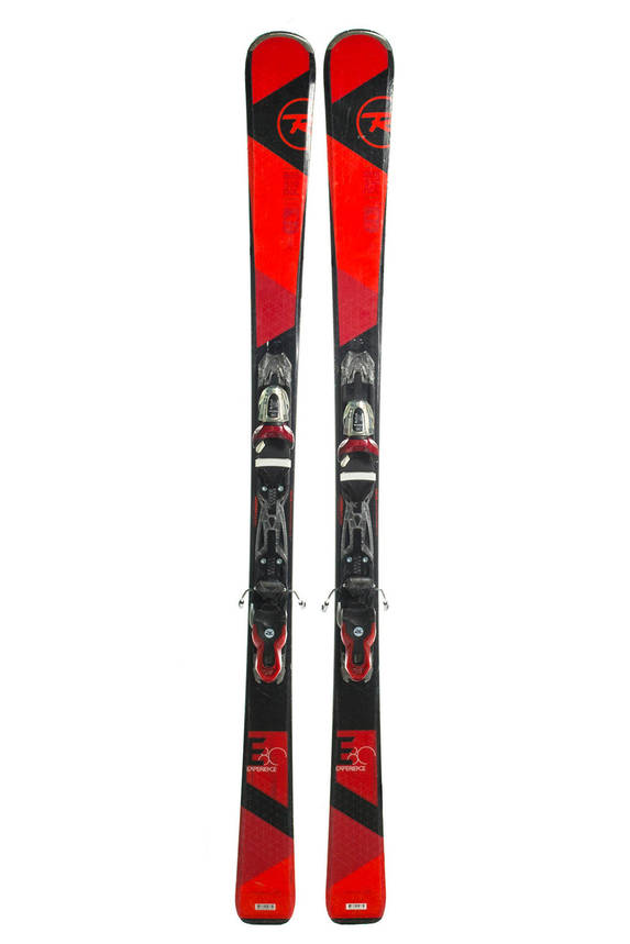 Лижі гірські Rossignol Experience 80 160 Black-Red Б/У, фото 2