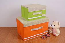 Короб складной  ( Органайзер оранжевый), фото 3