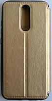 """Чехол-книжка """"Dragon Standart"""" для Xiaomi Redmi 8, золотой, фото 2"""