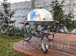 Кованый садж для подачи шашлыка 28 см