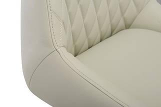 Кресло поворотное R-80 Светло-серый TM Vetro Mebel, фото 3