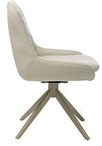 Кресло поворотное R-80 Светло-серый TM Vetro Mebel, фото 2