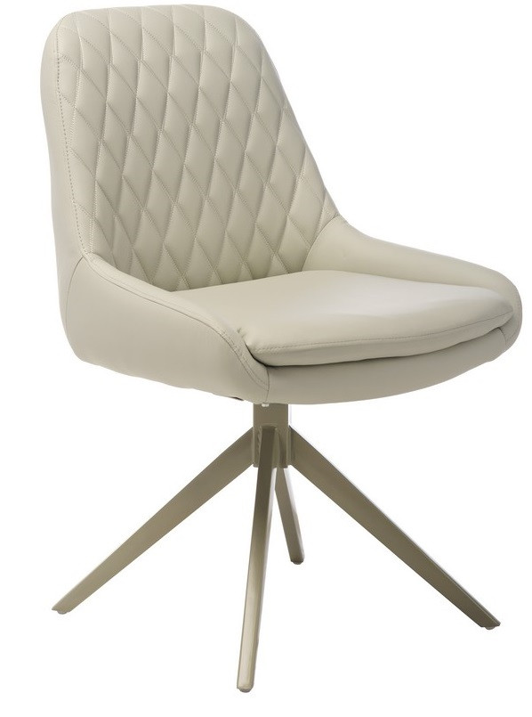 Кресло поворотное R-80 Светло-серый TM Vetro Mebel