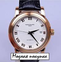 Мужские механические наручные часы Patek Philippe Geneve PP7204 копия ААА, фото 1
