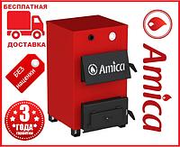 Amica Optima14-18 кВт - котел твердотопливный на дрова