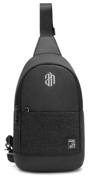 Городская сумка-рюкзак Arctic Hunter XB00064 с одной лямкой через плечо из водоотталкивающей ткани, 5л