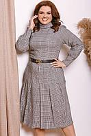 Женское платье из костюмки батал 48 - 58 рр