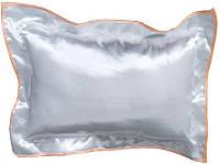 Подушка прямоугольная 35х45 см атласная с цветным кантом (в а сортименте)