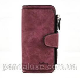 Гаманець жіночий клатч портмоне Baellerry Forever колір бордо