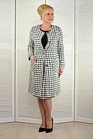 Комплект: Кардиган и юбка шанелька - Модель 1740-3+112-26 60