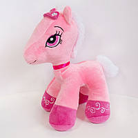 М'яка іграшка/звірятко у 5-и моделях. Поні Арабела/рожевий. 28 см.