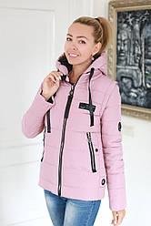 Куртка жіноча демісезонна трансформер в жилет (розміри 42, 44, 46)