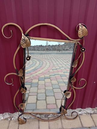 Зеркало в кованой раме новое малое, фото 2