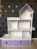 Кукольный домик из безопасных материалов, ляльковий будиночок, домик для барби