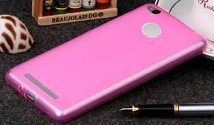 Силиконовый чехол для Xiaomi Mi4s розовый