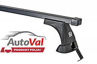 Багажник на гладкую крышу Nissan Versa Note Hatchback 14- Amos Koala K-1 сталь