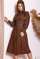 Женское платье из костюмки с 42 по 46 рр