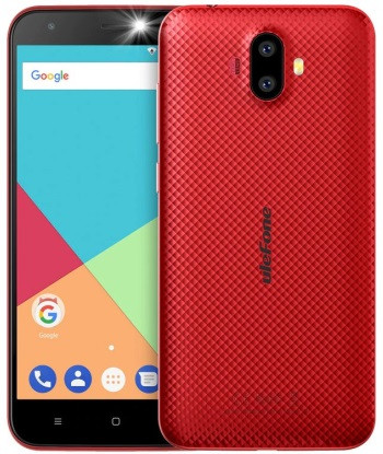Смартфон Ulefone S7 Pro 2/16GB Red, 2500mAh, 8+5/2Мп, 2sim, экран 5'' IPS, 4 ядра, 3G