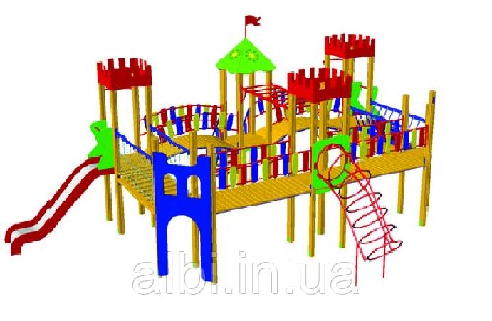 Детский игровой комплекс Замок БК-709З