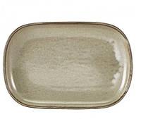 Блюдо прямоугольное 29х19,5 см, Terra Porcelain Grey