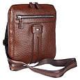 Кожаная мужская сумка Desisan, фото 2
