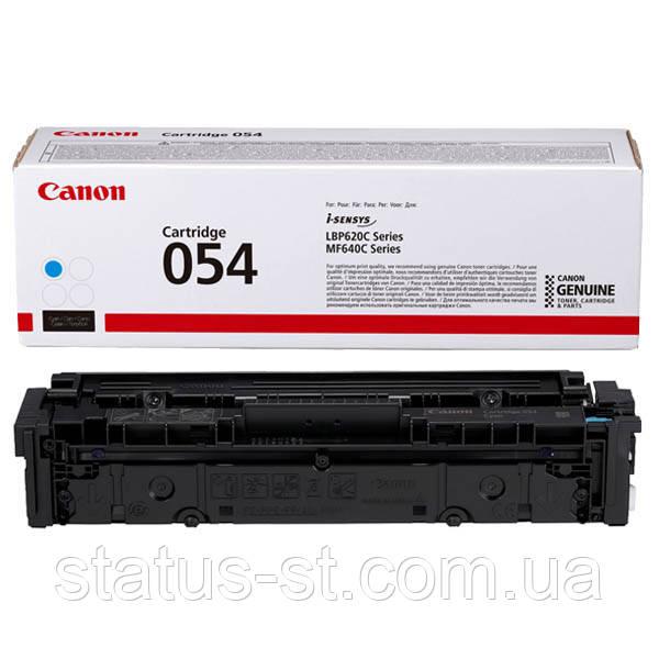 Заправка картриджа Canon 054 cyan для друку i-sensys LBP621Cw, LBP623Cdw, MF641Cw, MF645Cx, MF643Cdw