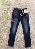 Джинсовые брюки для девочек S&D оптом, 6-16 лет. Артикул: DT143