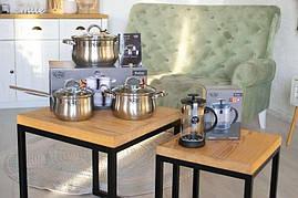 Набор посуды Krauff 6 предметов, в подарок Френч-пресс Krauff 1л - 229235