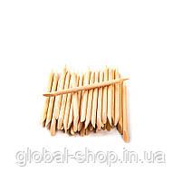Апельсиновые палочки для маникюра 100 штук, 7 см, фото 7