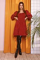 Женское модное платье с 42 по 46 рр из вельвета