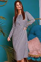 Стильное женское платье из жаккарда с 42 по 46 рр