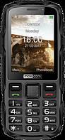 Кнопочный телефон для активного отдыха водонепроницаемый Maxcom MM920 черный