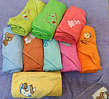 Уголки-полотенца махровые для купания малышей., фото 2