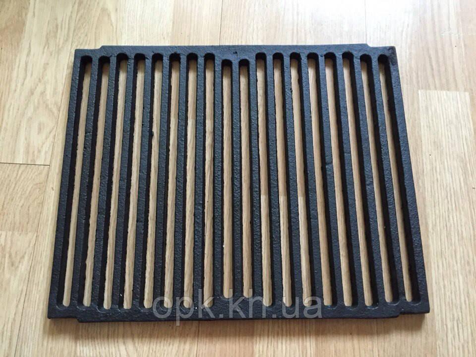 Чугунная решетка гриль для барбекю и мангала 410*340 мм Польша (вес - 7 кг)