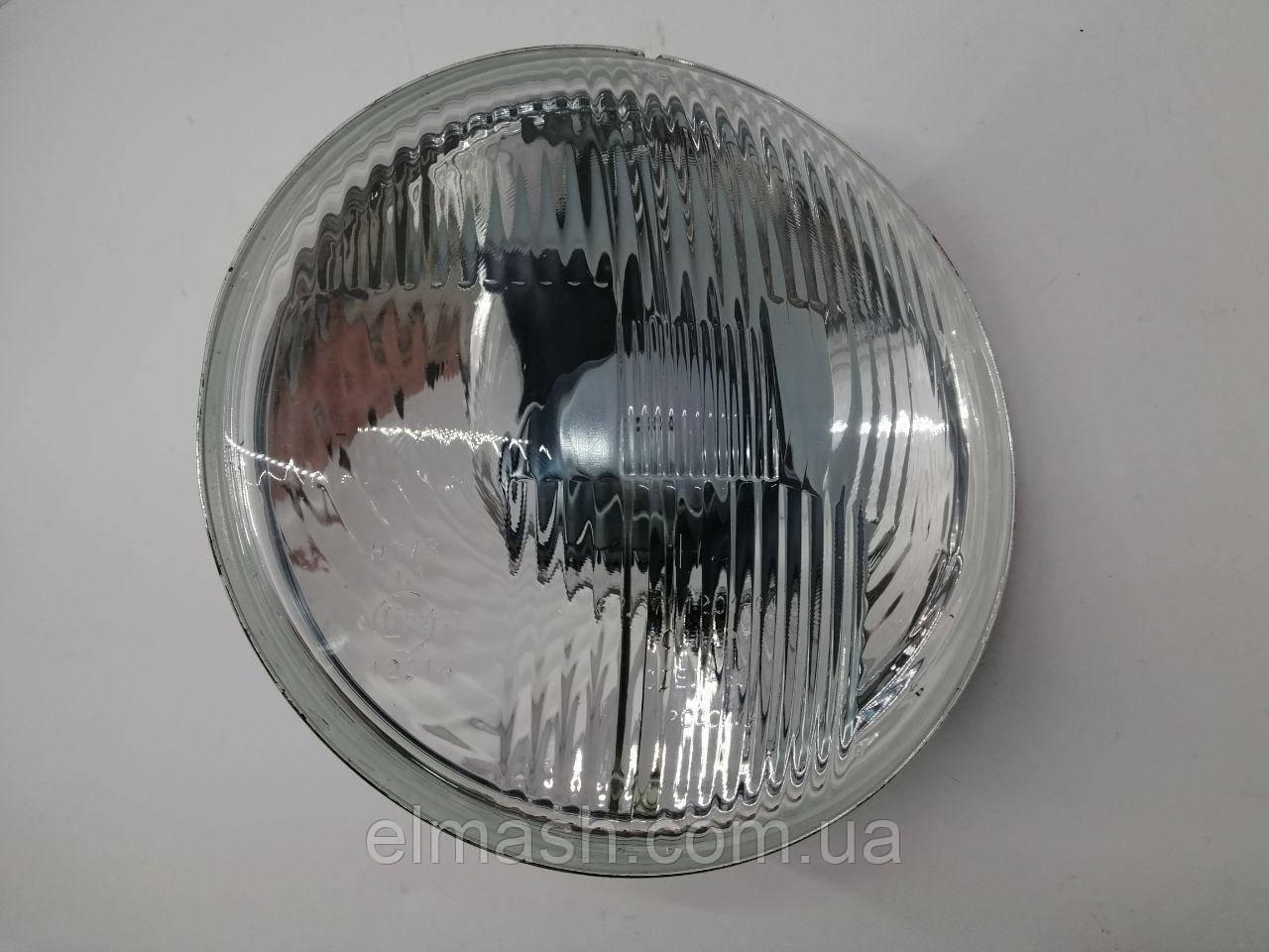 Фара левая/правая H4 (стекло+отражатель) с подсветкой, с экраном лампы ВАЗ 2101,-02,-21 (пр-во ОСВАР)