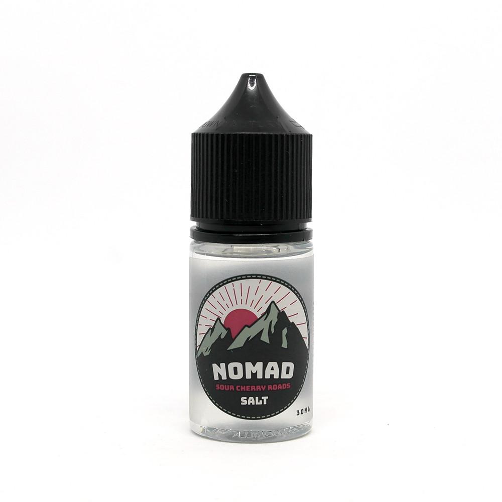 Жидкость NOMAD Salt Sour Cherry Roads 25 мг 30 мл