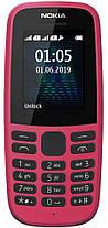 Мобильный телефон Nokia 105 TA-1174 DS Pink 2019 Гарантия 12 месяцев, фото 3