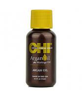 """Восстанавливающее масло для волос CHI Argan Oil / """"Аргана плюс Моринга"""" 15 мл"""