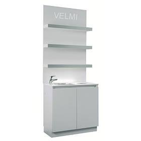 Лаборатория для парикмахерской VM514  с сантехникой ДСП Swisspan (Velmi TM)