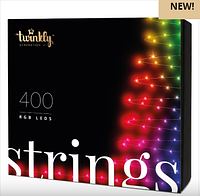 Smart - гирлянда TWINKLY Strings 400 LEDs Multicolor, фото 1