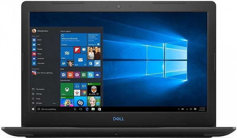"""Ноутбук Dell G3 3579 (G35581S1NDW-60B); 15.6"""" FullHD (1920x1080) IPS LED матовый / Intel Core i5-8300H (2.3 - 4.0 ГГц) / RAM 8 ГБ / HDD 1 ТБ + SSD 128"""