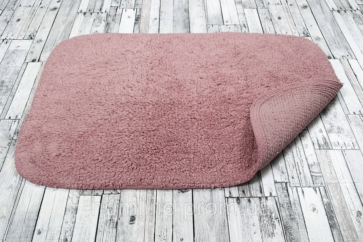 Махровый коврик Irya Basic pink розовый 50*80