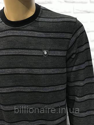 Джемпер полоска утепленний, фото 2