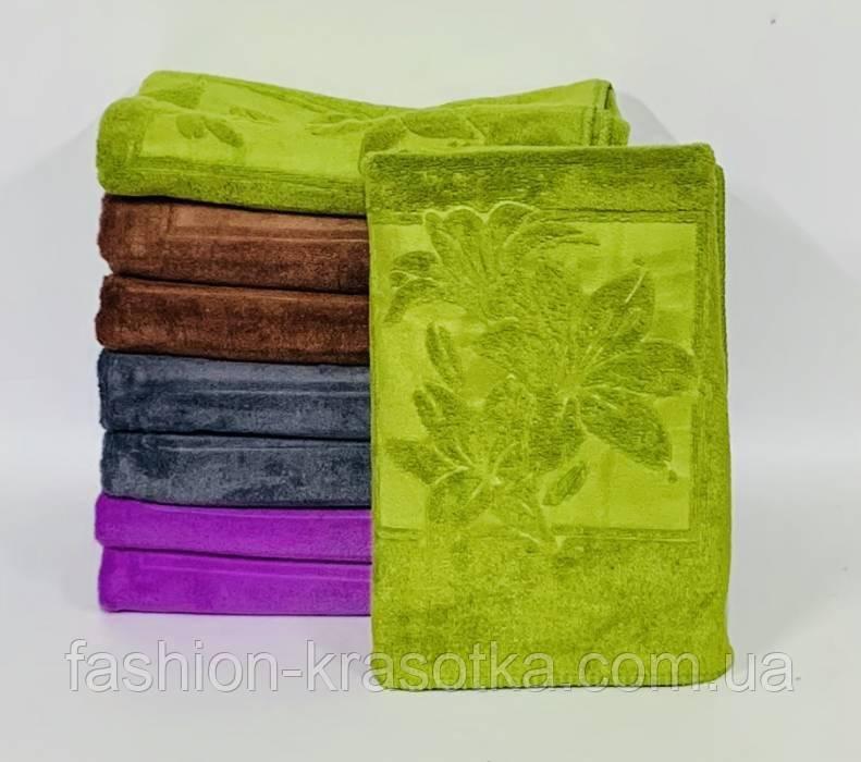 Модные яркие банные полотенца