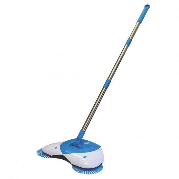 Механическая веник-швабра Hurricane Spin Broom S White/Blue (XL5335)