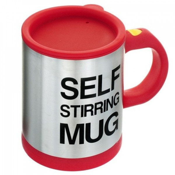 Чашка-мешалка Self Stirring Mug 350 мл Red